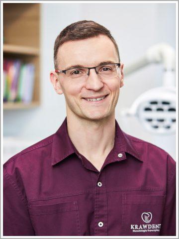 Stomatolog Paweł Krawczyńska